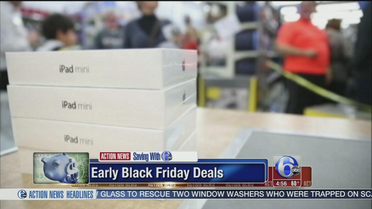 VIDEO: Early Black Friday deals