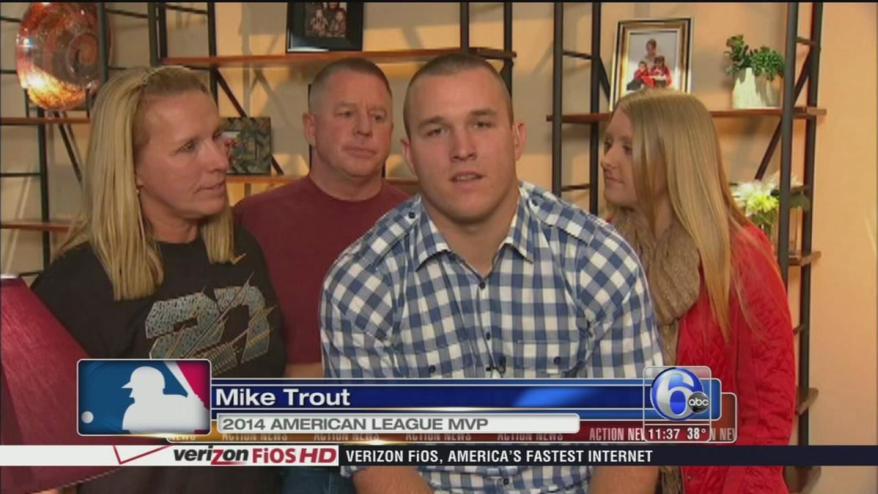 VIDEO: NJs Mike Trout wins MVP