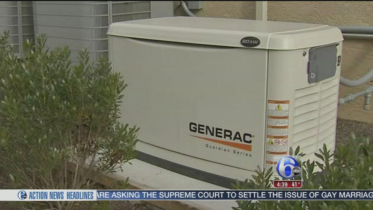 VIDEO: More homeowners buying back-up generators