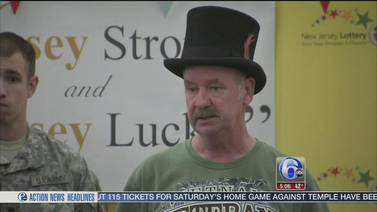 VIDEO: NJ lottery winner crowned with Monopoly top hat