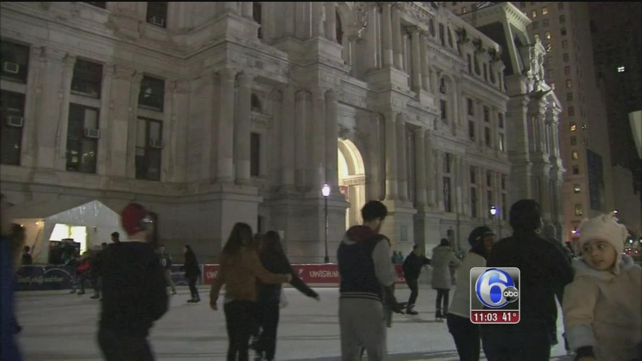 VIDEO: Residents try to keep warm in cold temps