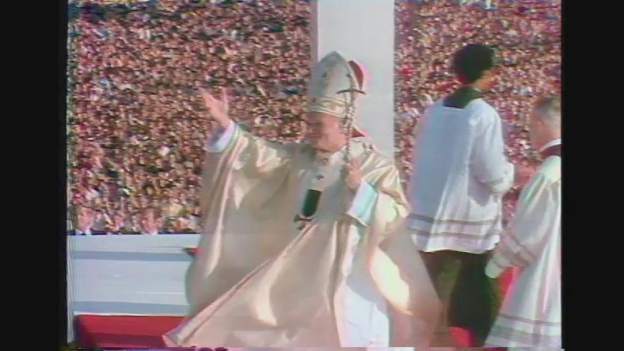 VIDEO: Pope John Paul II visits Philadelphia in 1979