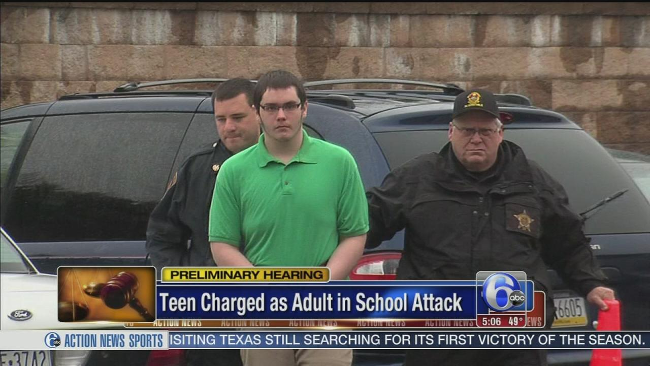 VIDEO: Teen charged as adult in school attack