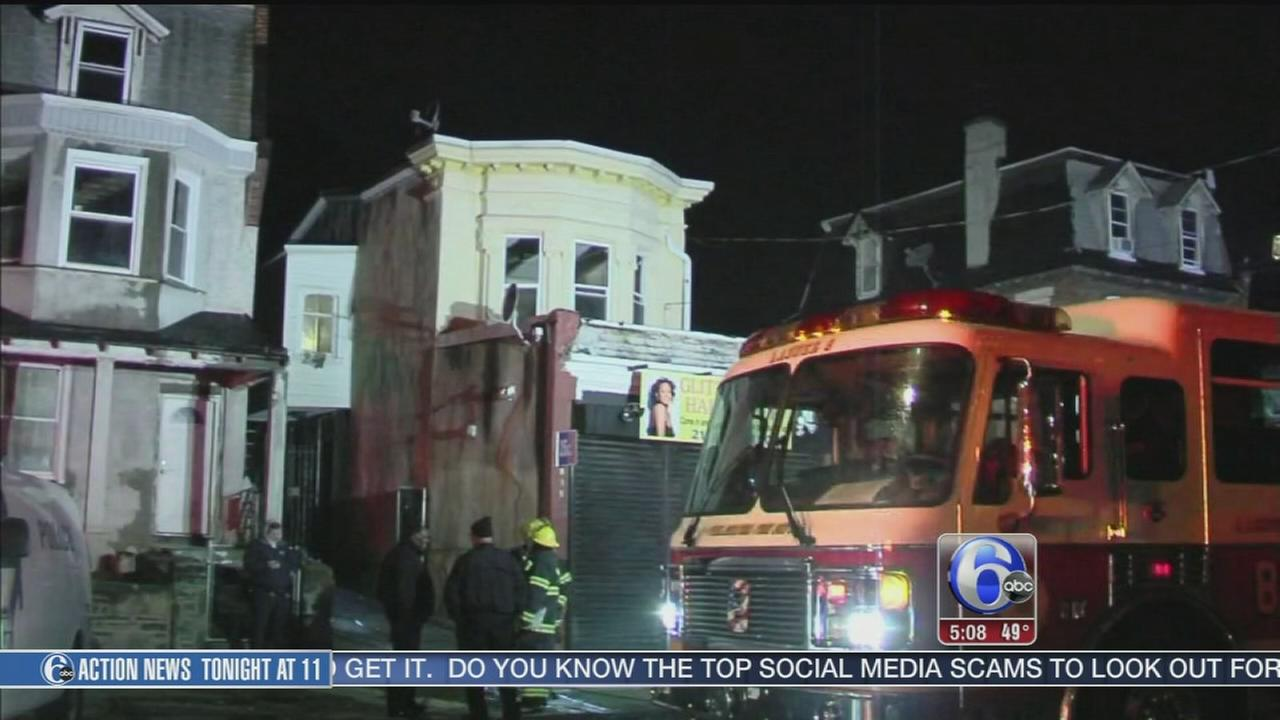 VIDEO: Man killed in Germantown fire