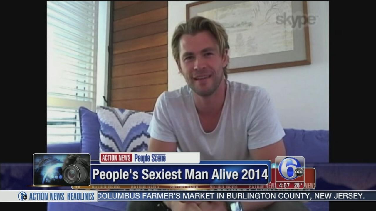 VIDEO: Chris Hemsworth named Peoples sexiest man