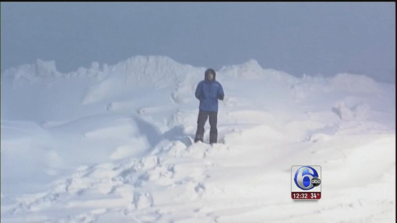 VIDEO: Winter storm