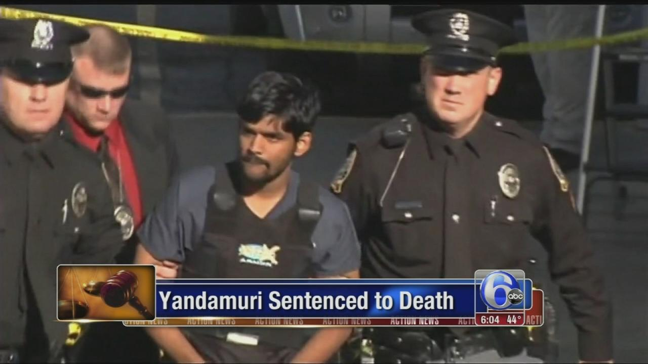 VIDEO: Judge officially sentences Raghu Yandamuri to death