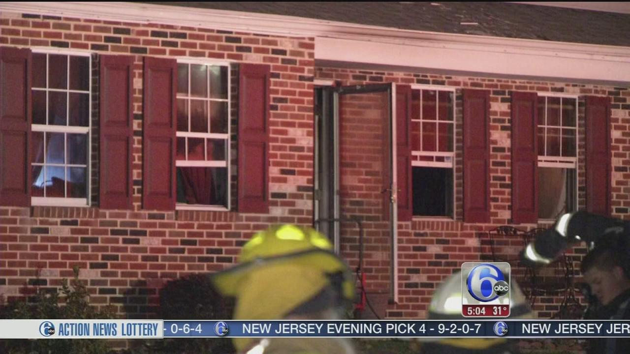 VIDEO: Fire forces family from their Delaware Co. home