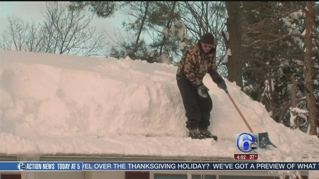 VIDEO: Buffalo snow