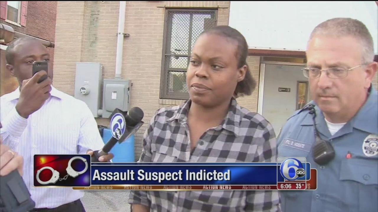 VIDEO: Suspect indicted in videotaped attack on NJ mom