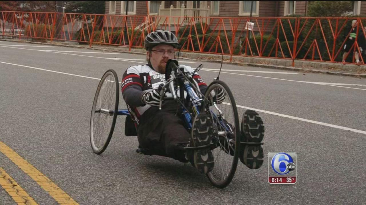 VIDEO: One mans drive to compete in the Phila. Marathon
