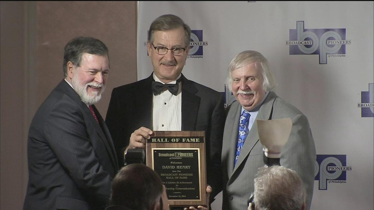 VIDEO: David Henry inducted into Broadcast Pioneers Hall of Fame