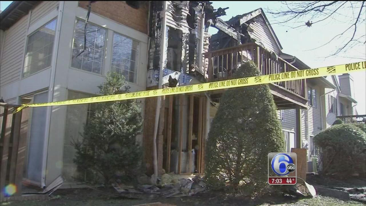 VIDEO: 1 dead after flames rip through condos in Horsham