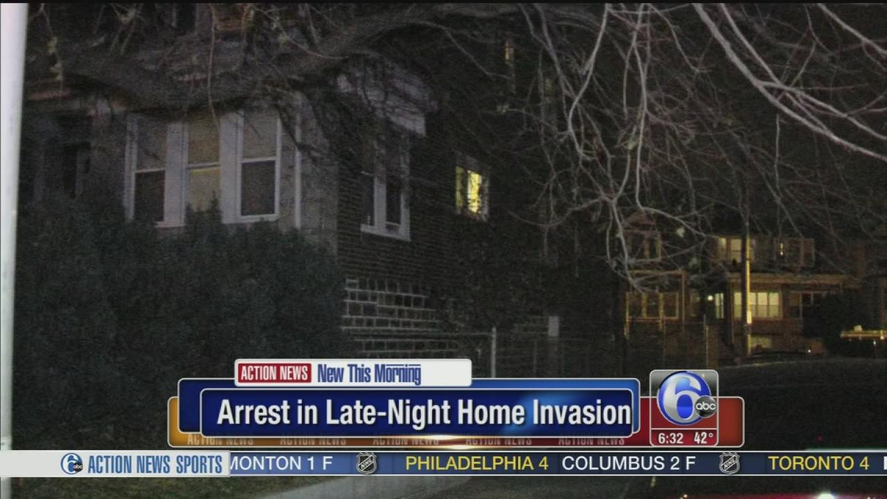 VIDEO: Home invasion