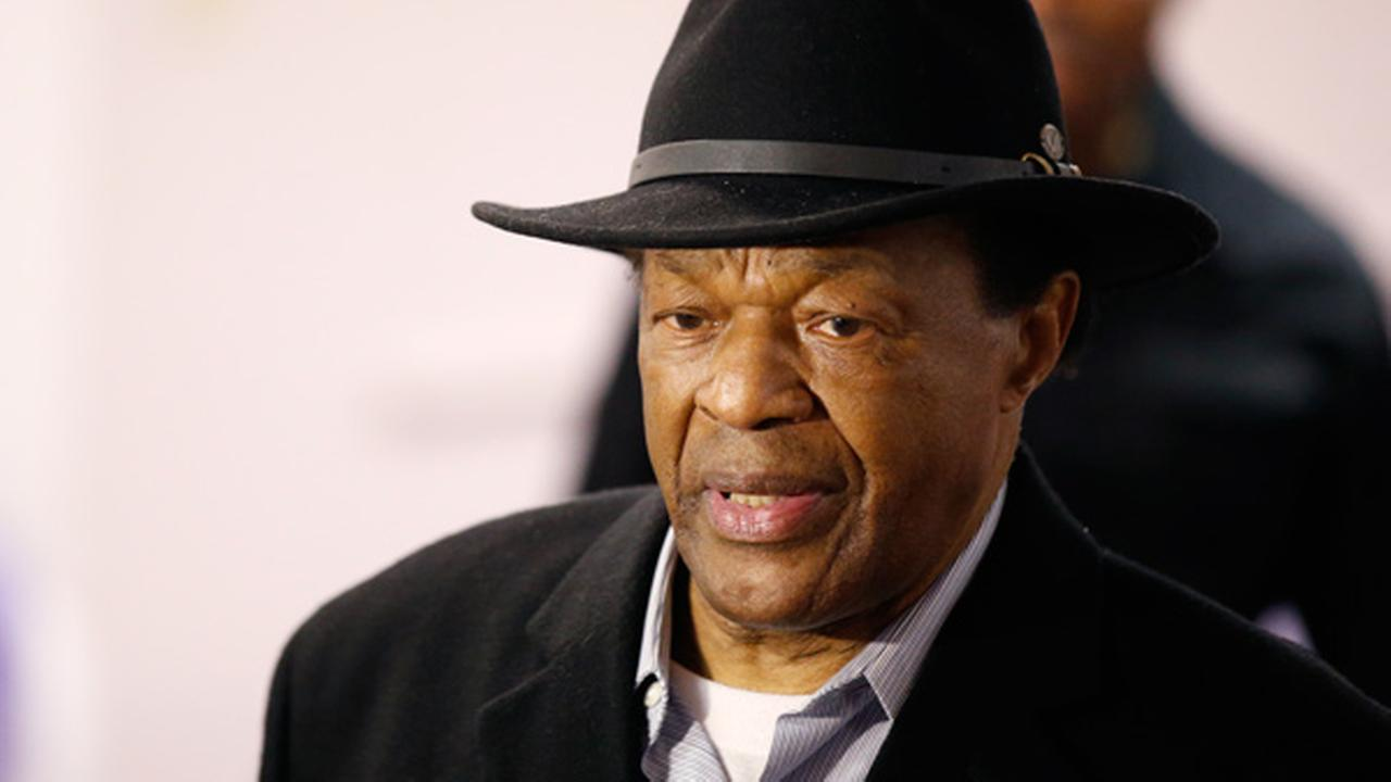 Former Mayor and current DC City Council member Marion Barry arrives at a media availability to endorse Mayor Vincent Grays bid for re-election, in this, March 19, 2014 photo.