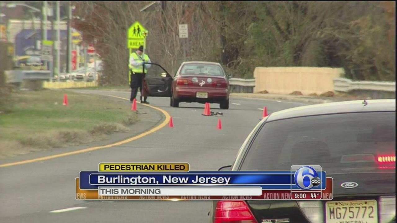 VIDEO: Pedestrian killed