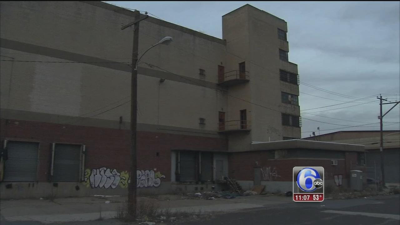 VIDEO: Woman found dead outside warehouse in South Philly