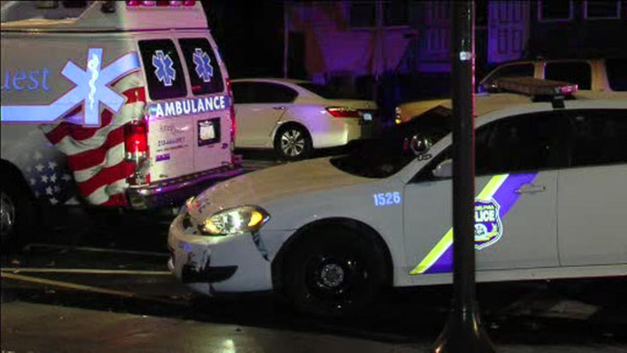 Police cruiser, ambulance collides in Tacony
