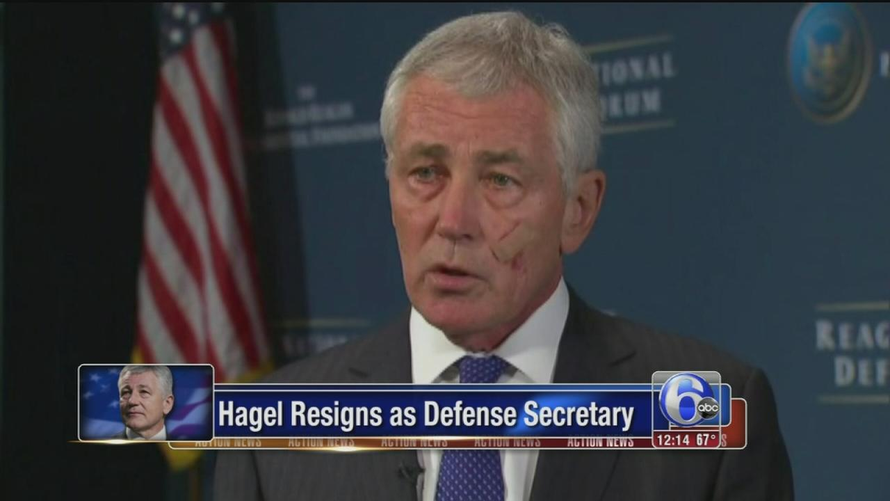 VIDEO: Hagel resigns as Defense Secretary