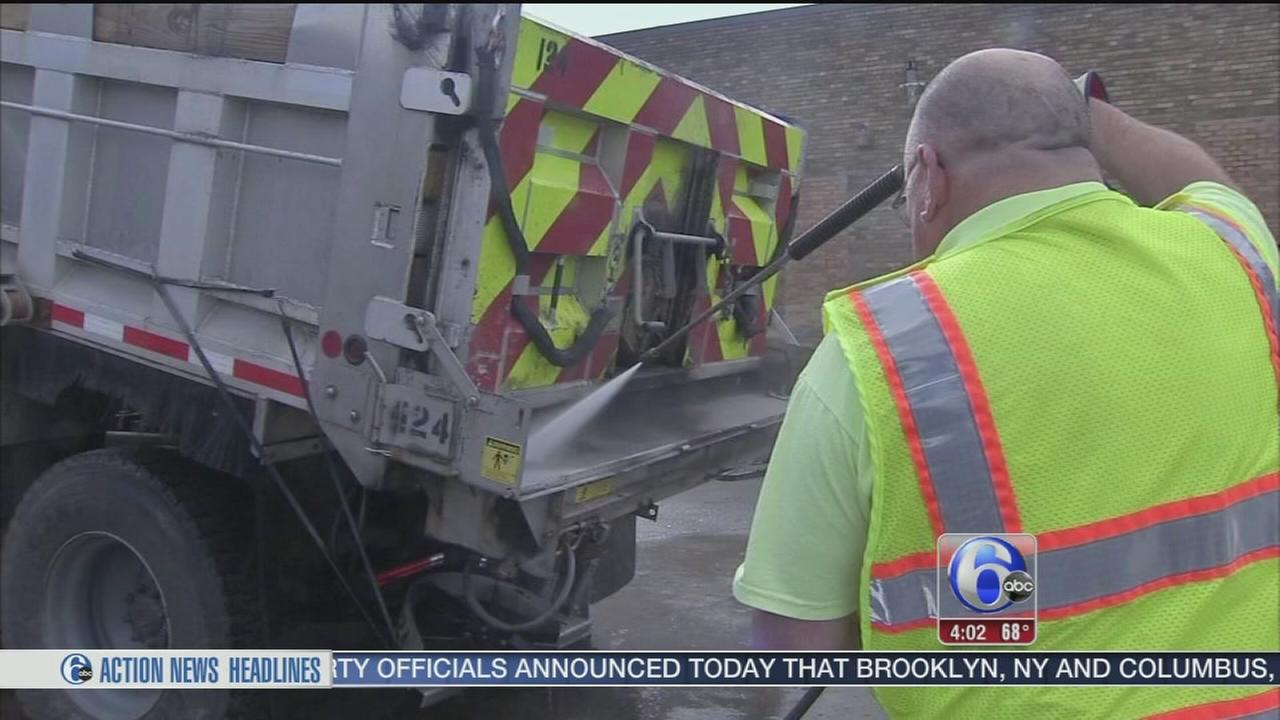 VIDEO: Area prepares for pre-Thanksgiving snow