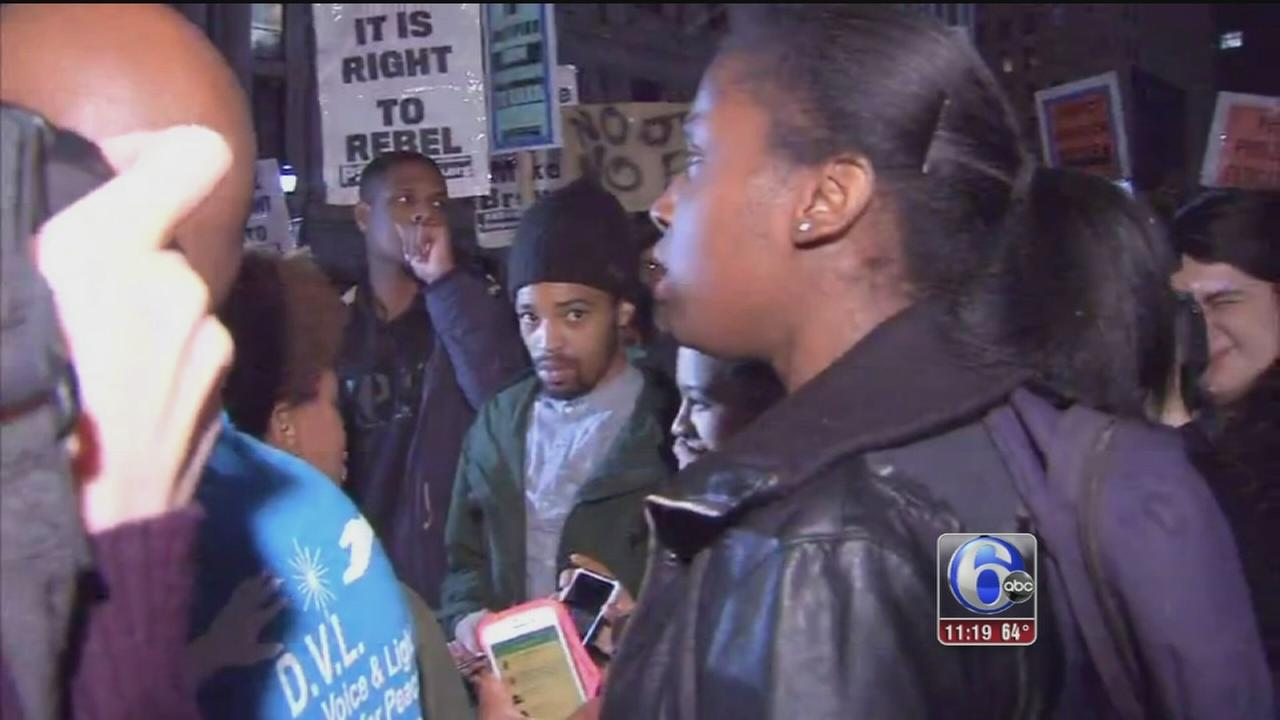 VIDEO: Philly protests
