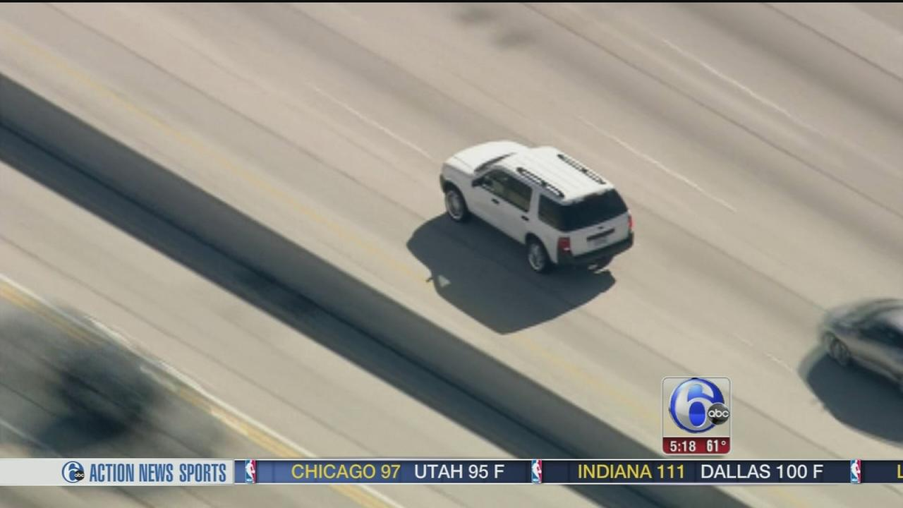 VIDEO: Police chase drive-by shooting suspect
