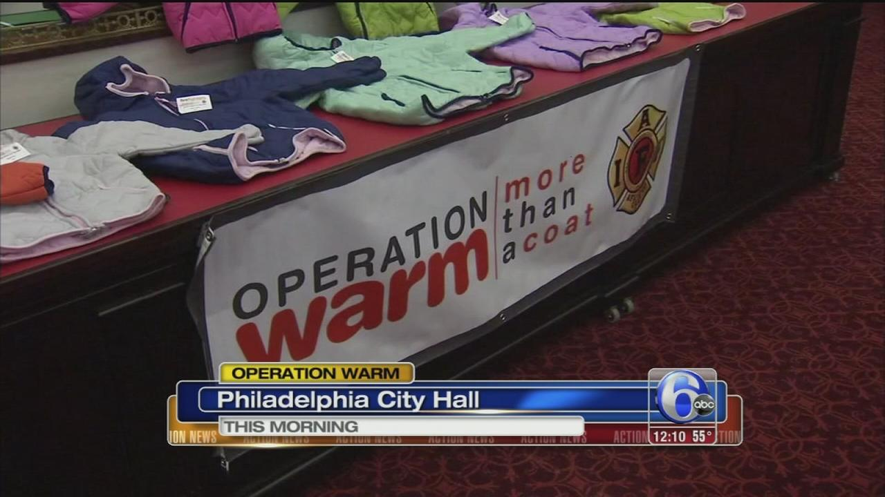 VIDEO: Operation Warm campaign begins in Philly