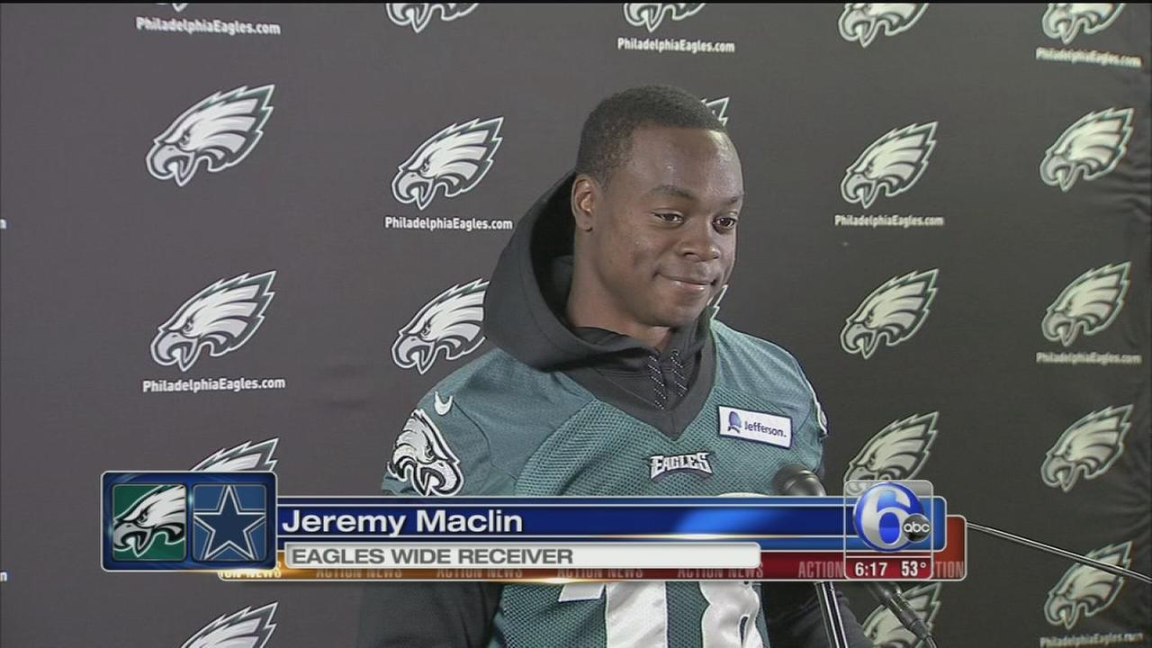 VIDEO: Maclin responds to Cooper