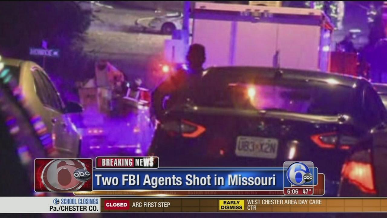 VIDEO: 2 FBI agents shot in Missouri