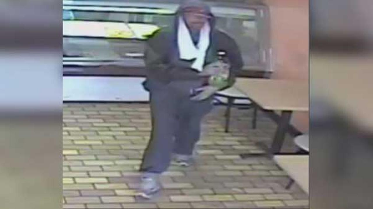 Philadelphia police are searching for a purse-snatcher in the citys Kensington section.