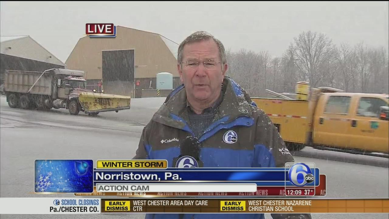 VIDEO: John Rawlins reports on PennDOTs snow preps
