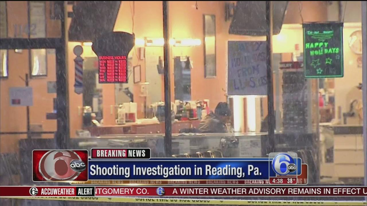 VIDEO: 4 people shot at strip mall barbershop in Reading
