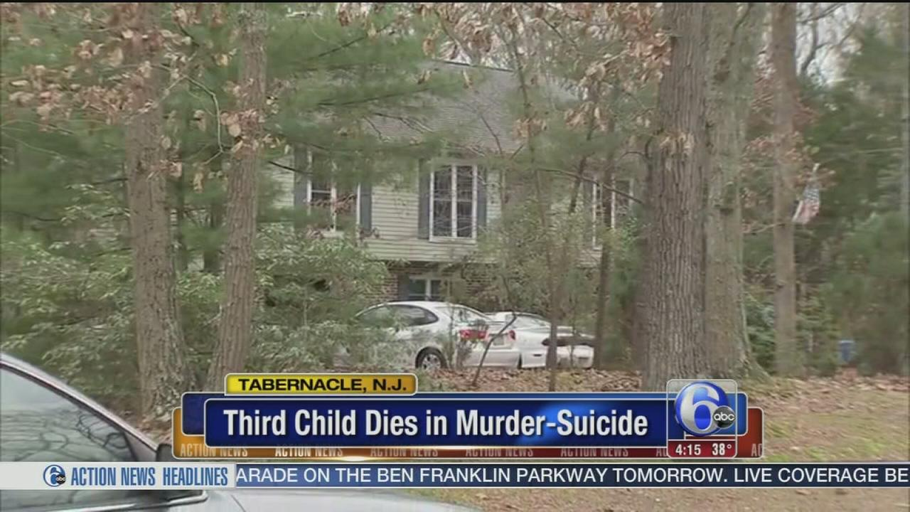 VIDEO: 3rd child dies after Tabernacle murder-suicide