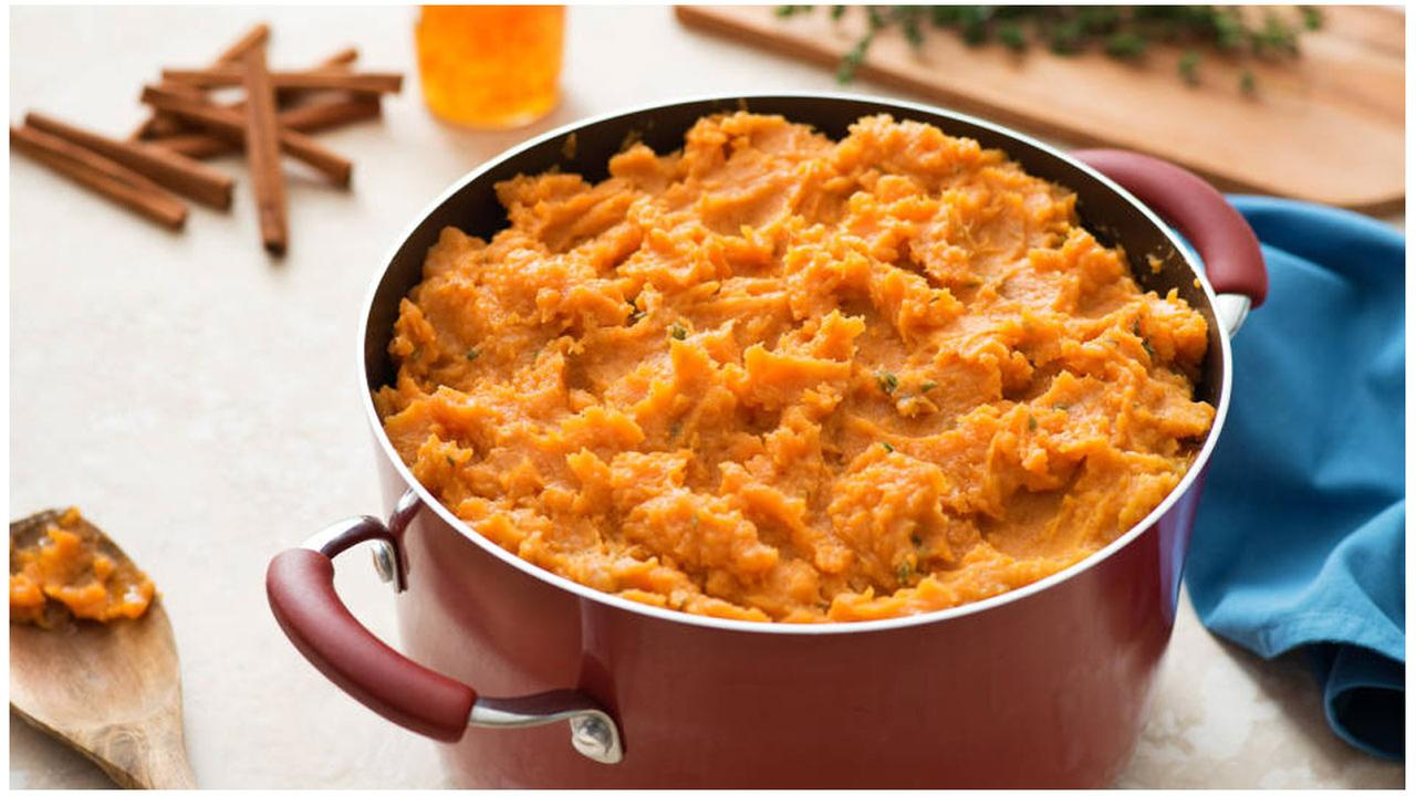 Orange You Glad Its Sweet Potato Mash