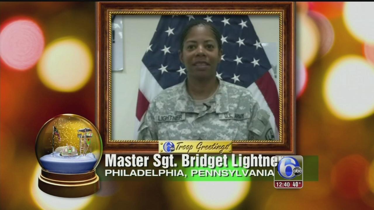 VIDEO: 2014 Troop Greetings on 6abc