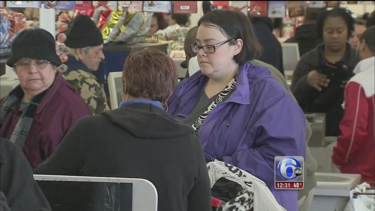 VIDEO: Shoppers gear up for Black Thursday