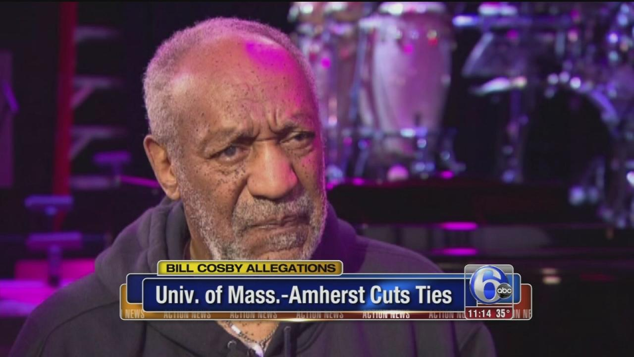 VIDEO: UMass cuts ties with Bill Cosby
