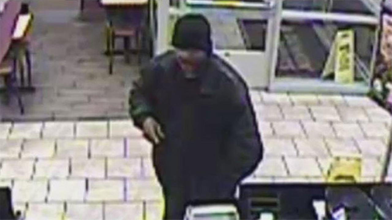 Man sought in South Philadelphia Dunkin Donuts robbery