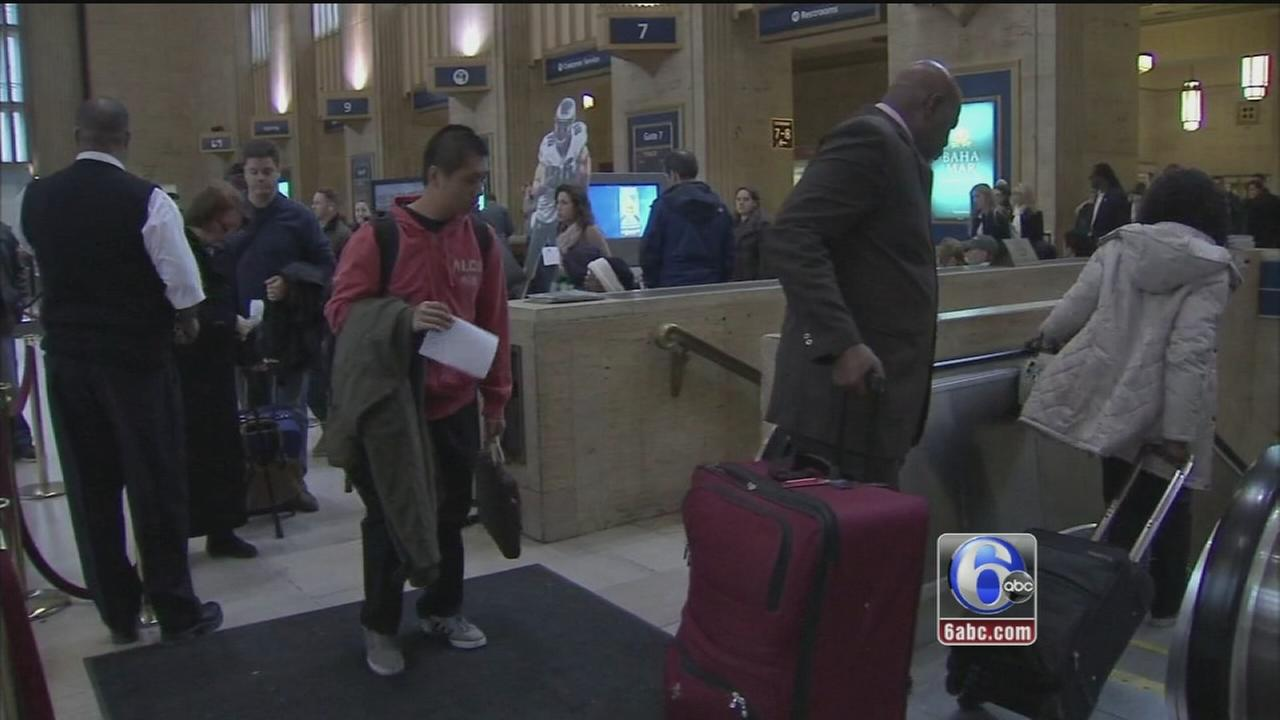 VIDEO: Post-Thanksgiving Sunday: Busy travel day