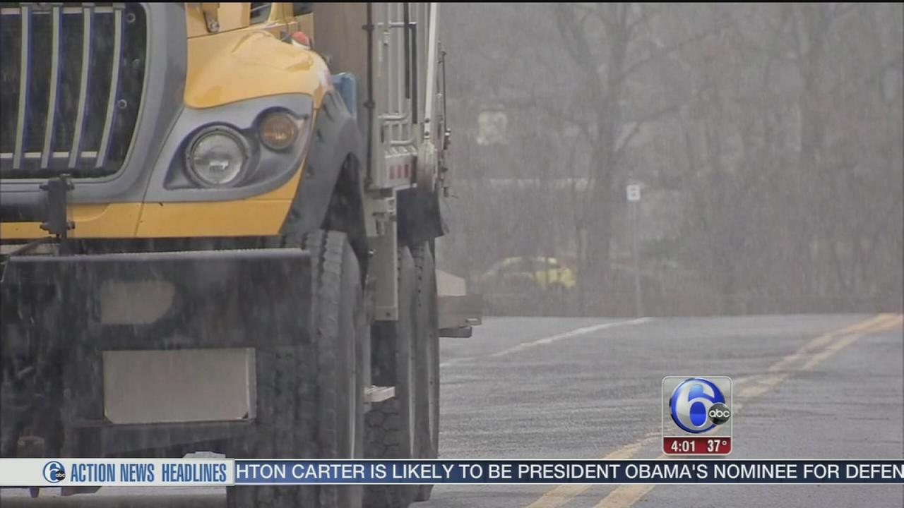 VIDEO: Snow in Allentown