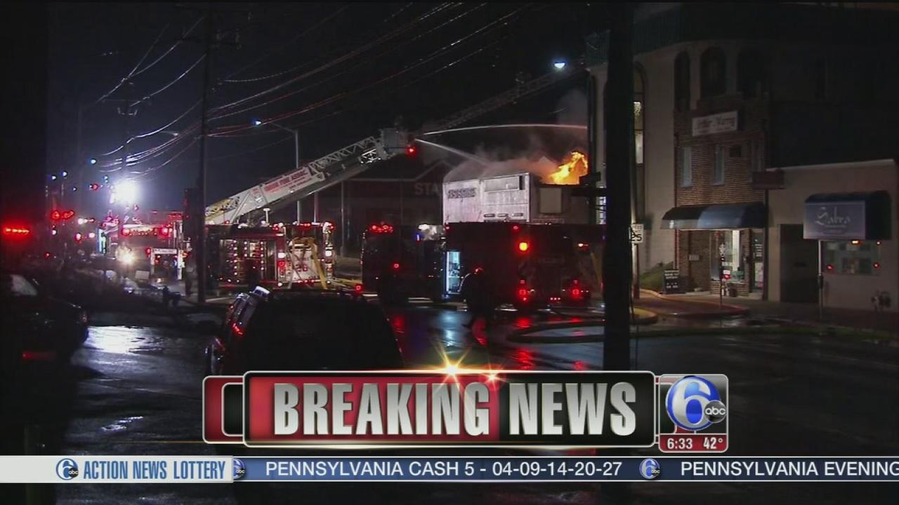 VIDEO: 4-alarm fire in Lower Merion