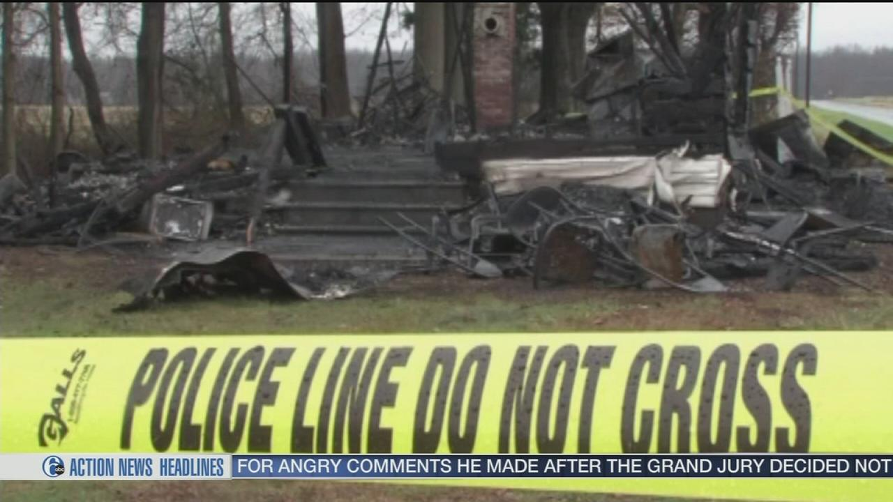 VIDEO: 3 church arsons within one hour in Delaware