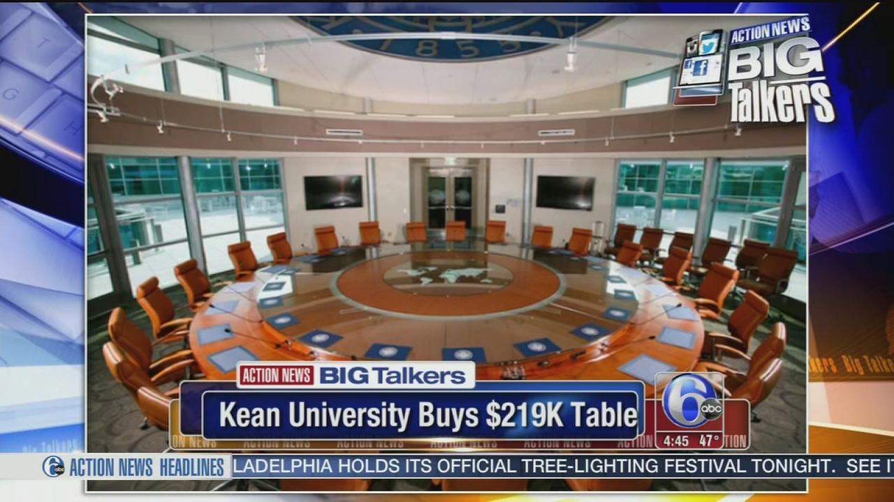 VIDEO: Student fury after university buys $219K table