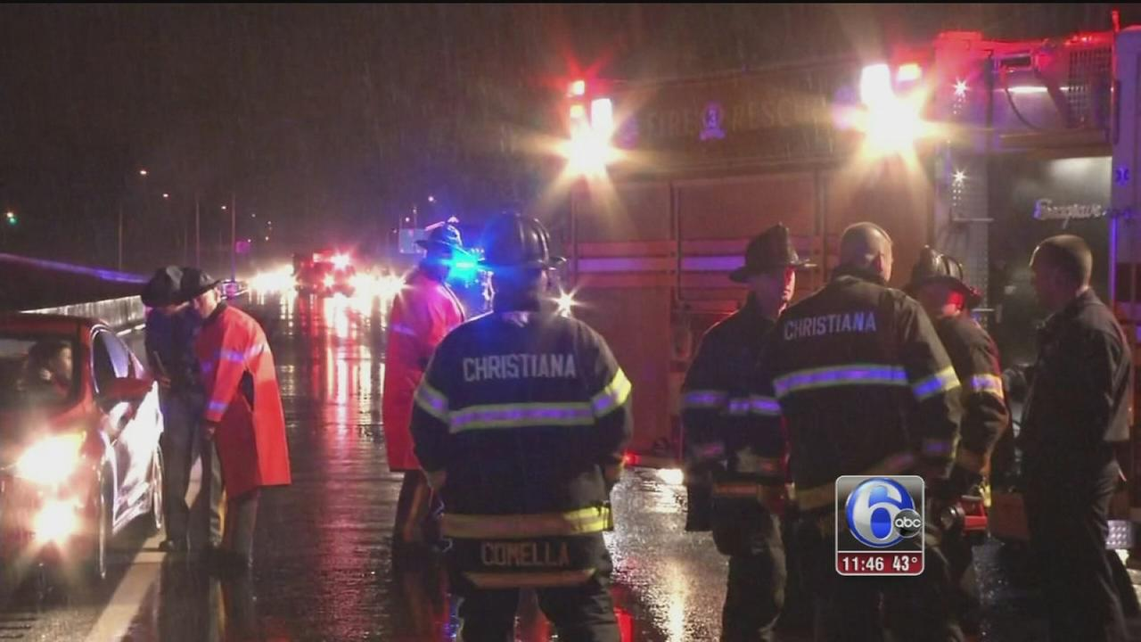 VIDEO: Pedestrian struck and killed on I-95 in Newark