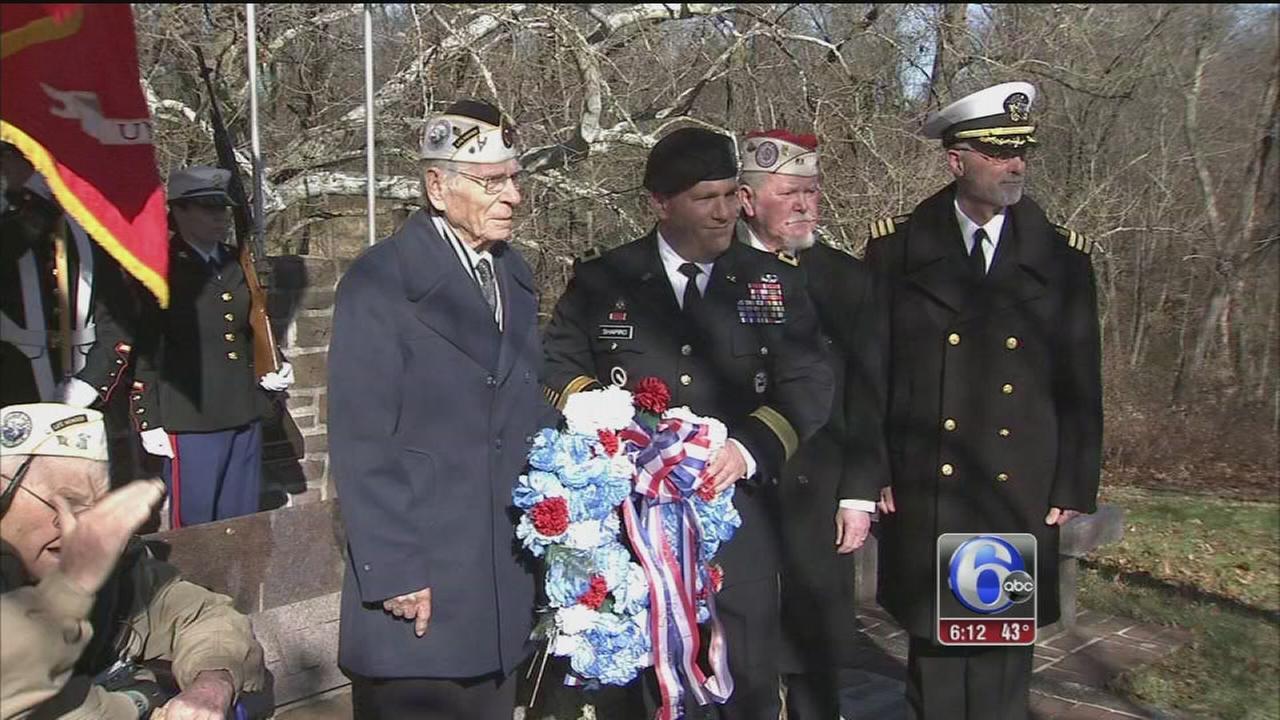 VIDEO: Local veterans remember 73rd anniversary of Pearl Harbor