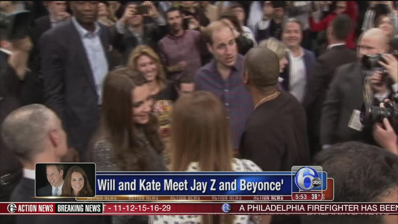 VIDEO: British royalty meets America royalty