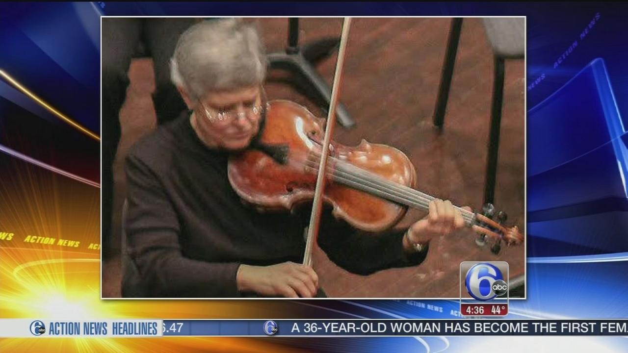 VIDEO: Priceless viola stolen from Philadelphia musician