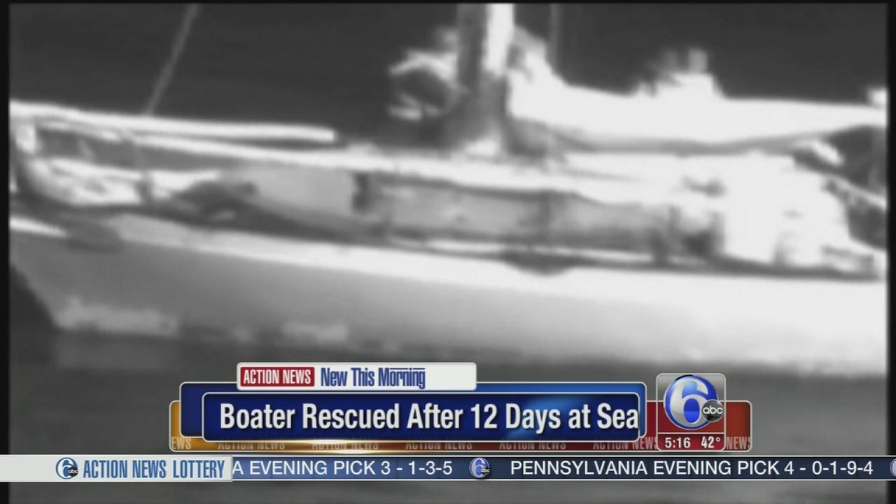 VIDEO: Hawaii fisherman lost at sea for 12 days