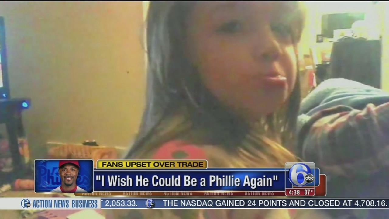 VIDEO: Little girl heartbroken over Rollins trade