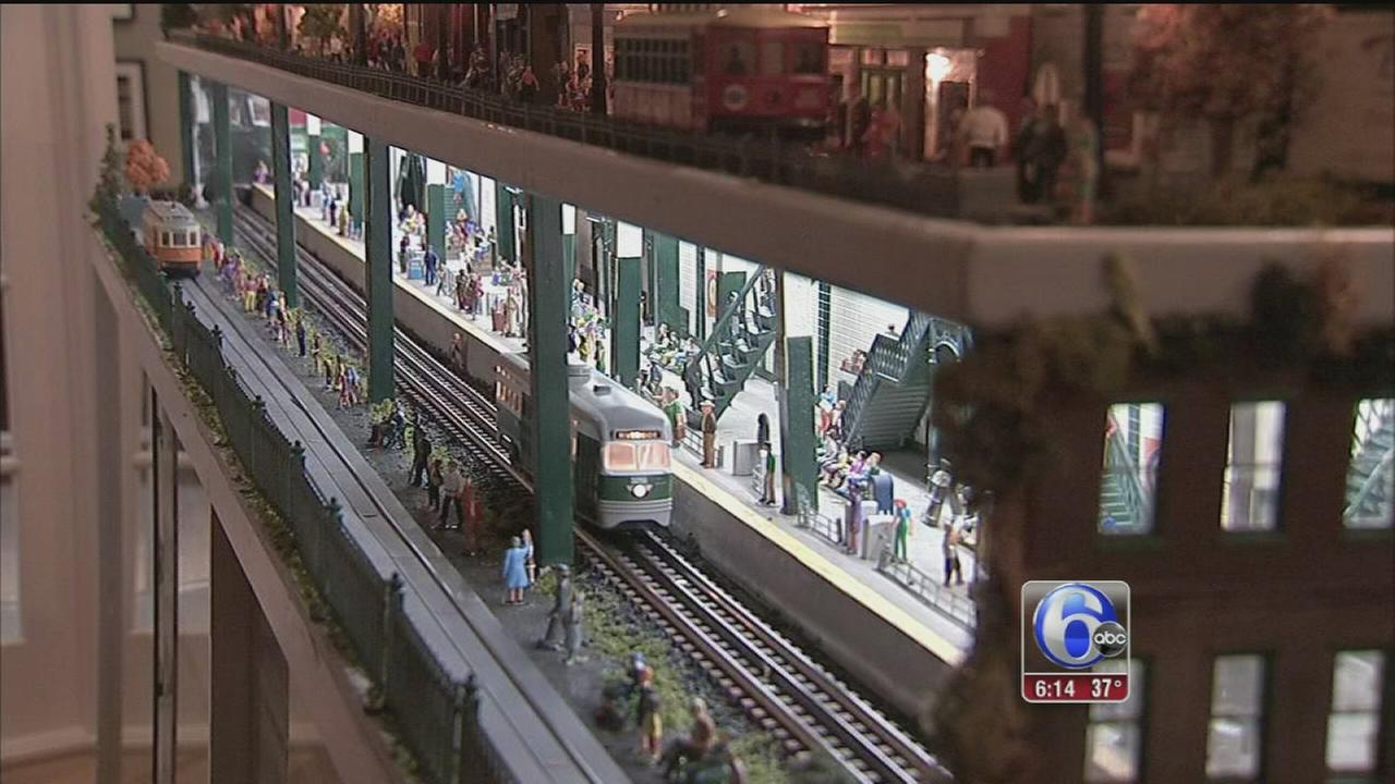 VIDEO: Delco man takes model train hobby to new heights